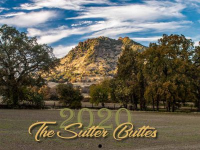 2021 The Sutter Buttes Calendar Cover